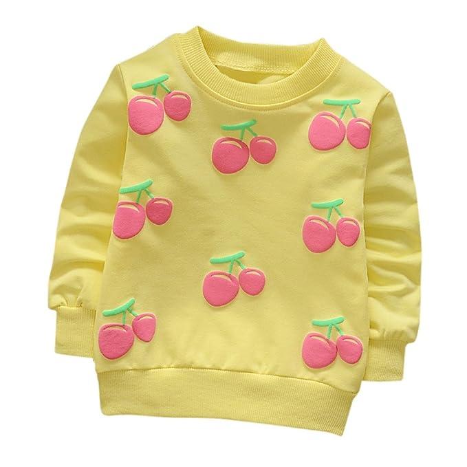 👏 Camisetas para 0-2 Años, 🌸 Zolimx Bebé Niños Niñas Trajes Ropa Recién Nacido Estrella Impresa Algodón Manga Larga Camiseta Tops Sudaderas: Amazon.es: ...