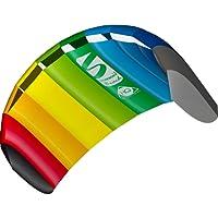Invento 11768050 - Symphony Beach III 1.3 Rainbow Zweileiner Lenkmatten, Ab 8 Jahren, 55 x 130 cm Ripstop-Nylon 2-6 Beaufort