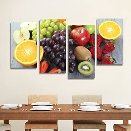 Frutta 3, quadro per cucina moderna stampa su tela canvas 152 x 78 ...
