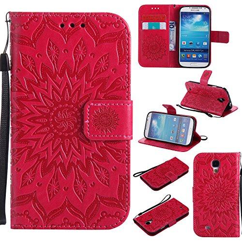Galaxy S4 Wallet Case,A-slim(TM) Beauty Fashion