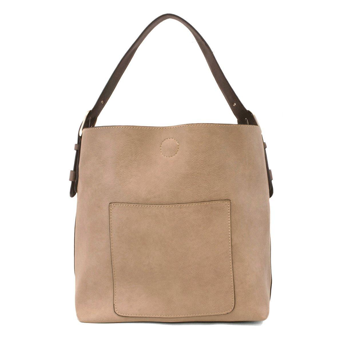 Heathered Grey Joy Susan Classic Hobo Handbag