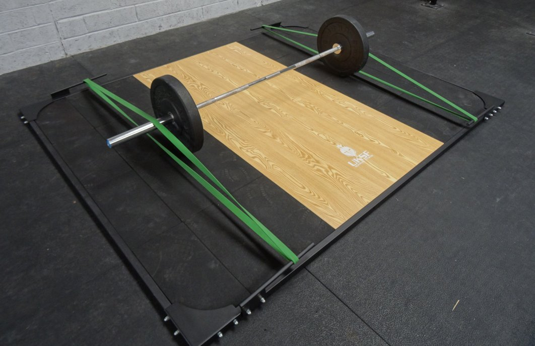 Olympic Weightlifting Platform Amazon Co Uk Sports Outdoors