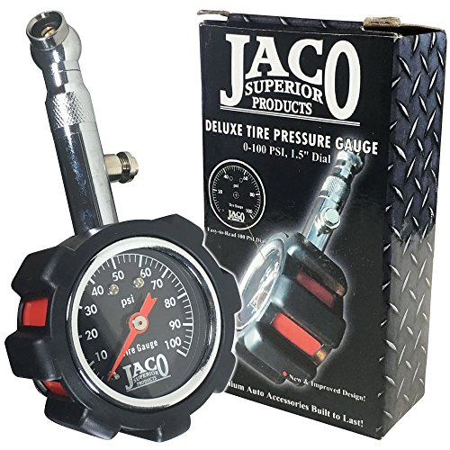 JACO Deluxe Tire Pressure Gauge product image