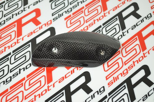 (2011-2017) Ducati Diavel Cromo/amg/carbon/dark Carbon Fiber Fibre Exhaust Heat Sheild Cover