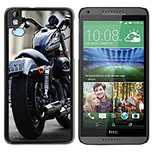 Personalized HTC Desire 816 With Harley Davidson 19 Black Customized Photo Design HTC Desire 816 Phone Case