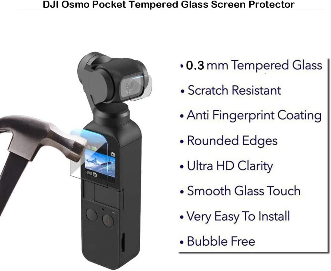 Screen Protector Film for DJI OSMO Pocket Handheld Camera Lens Cover 0.25mm