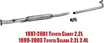 Car & Truck Exhaust Pipes & Tips Walker Resonator New for Toyota ...