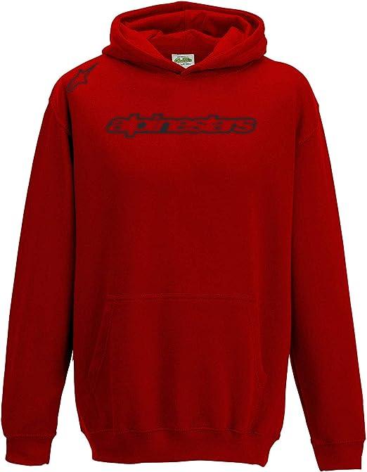 Juko Kids Alpinestars Logo 1356 Moto GP VR46 Rossi Motorbike Racing T Shirt.