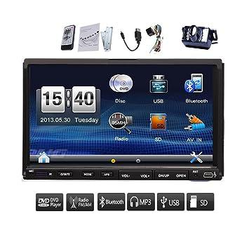 Universal en el tablero de 7 pulgadas Bluetooth est¨¦reo del coche Digital Video