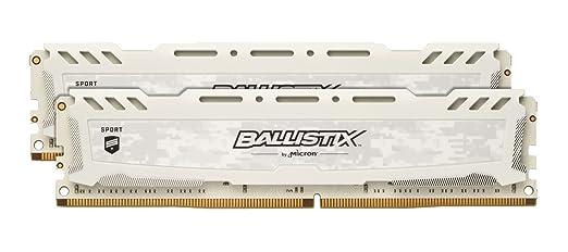 171 opinioni per Ballistix Sport LT 8 GB Kit (4 GBx2) DDR4 2400 MT/s (PC4-19200) Single Rank x8