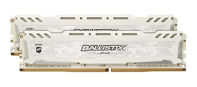150 opinioni per Ballistix Sport LT BLS2C16G4D26BFSC/BLS2K16G4D26BFSC Memoria da 32 GB Kit (16 GB