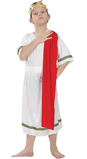 Amazon.com: Niños emperador romano disfraz disfraz Fancy ...