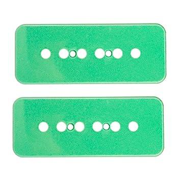 monkeyjack plástico P90 Soapbar Pickup Covers 50/52 mm para Gibson Les Paul Guitarra eléctrica