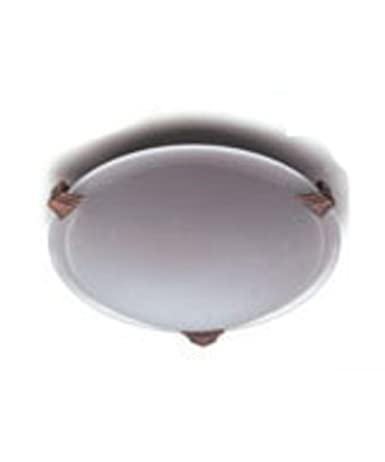 Amazon.com: PLC Lighting Valencia 8 Inch Flush Mount 5508 ...