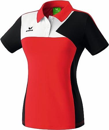 Erima Womens Polo Shirt XS/S Red / Black White