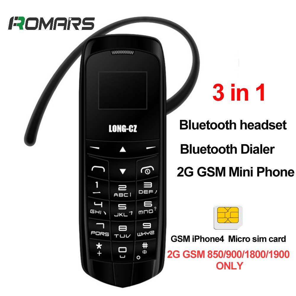 c3a87432c5c Worlds Smallest 3 in 1 Mini Phone UNLOCKED with Hands Free Bluetooth  Dialer
