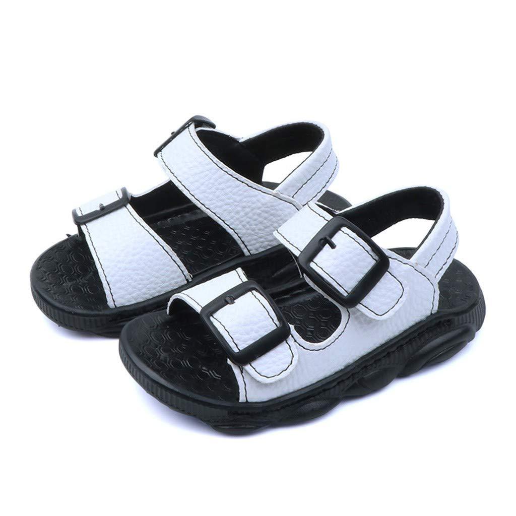 Chaussures de B/éB/é Gar/çon Ete Ours de Fond Mou Bout Ouvert Sandales de Casual Plage Youngii