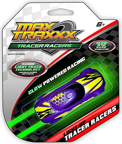 Max Traxxx Gravity Drive Tracer Racers Car for Non-Remote Control Racing Sets - Assorted Colors