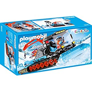 Playmobil Pistenraupe Agent avec Chasse-Neige, 9500
