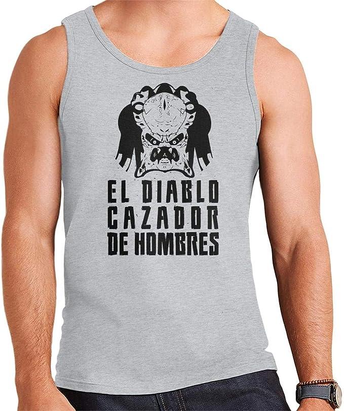 Predator El Diablo Cazador Des Hombres Mens Vest: Amazon.es: Ropa y accesorios