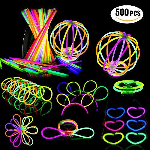 Geekper Glow Sticks Bulk 200 Count - 8