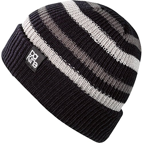 - Dakine Men's Chase Tall Ribbed Beanie (Black, One Size)