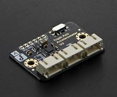 Triple Axis acelerómetro fxln8361/medir la aceleración durante el objeto de movimiento y analizar la