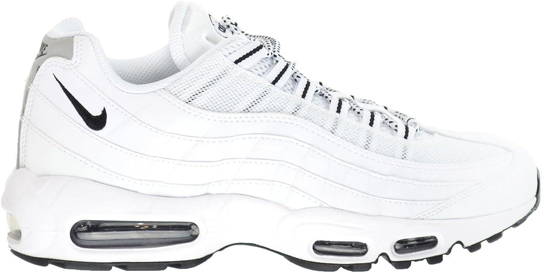 NIKE Air Max '95 Men's Shoes WhiteBlack Black 609048 109