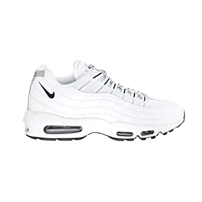 release date e0169 c8267 Nike Air Max  95 Men s Shoes White Black-Black 609048-109 (