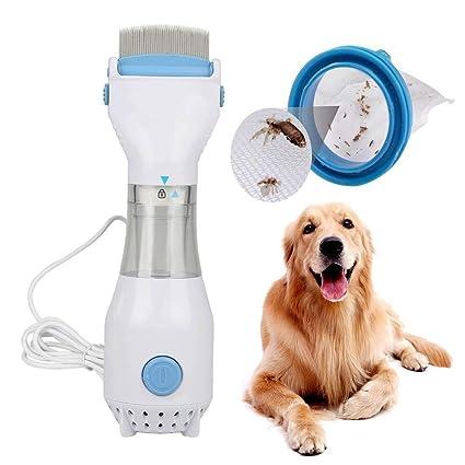 KXIN Peine eléctrico de pulgas para Perros y Gatos. Eliminación de Tratamiento de Seguridad.
