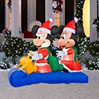 Home Accents Holiday 5 ft. Inflatable LED Mickey
