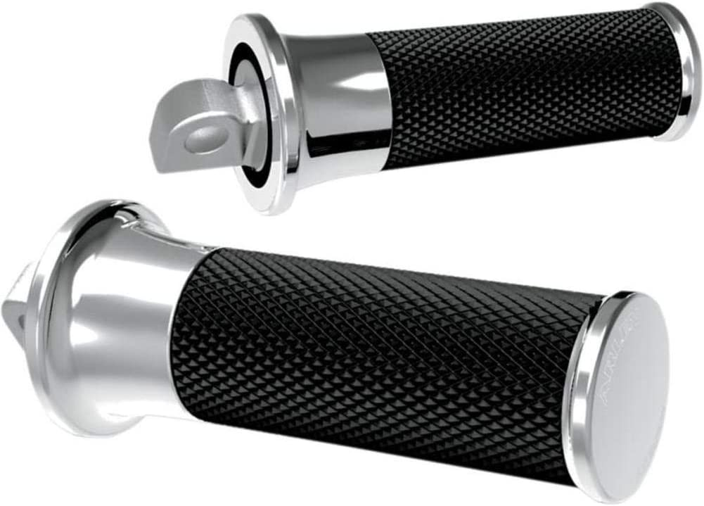 Arlen Ness 07-922 Chrome Fusion Male-Mount Footpegs And Shift Peg