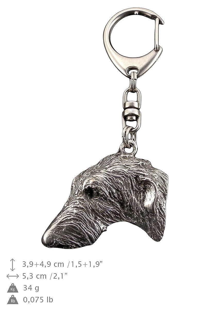 Lebrel Escocés, llavero del perro, ArtDog: Amazon.es: Joyería
