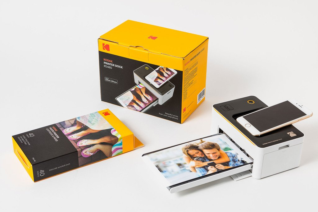 Kodak Dock & Wi-Fi Photo Printer Cartridge PHC – Cartridge Refill & Photo Sheets - 120 Pack (Compatible with PD450, PD480)