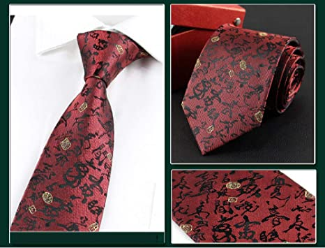 Wangwang454 Exquisita Corbata De Alta Gama Lazo De Los Hombres ...