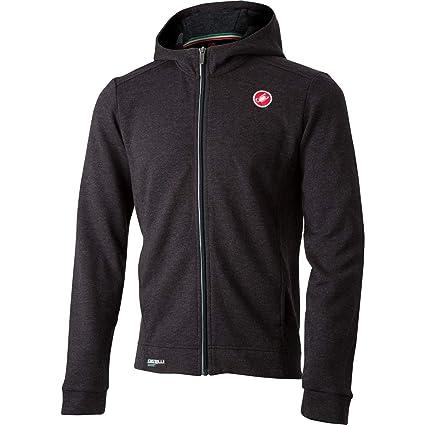 Castelli 2019 Mens Milano Casual Full Zip Fleece Jacket - X18559