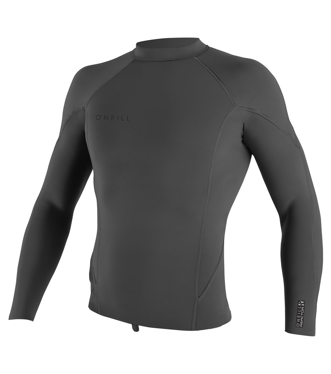 O'Neill Men's Reactor-2 1.5mm Long Sleeve Top, Graphite, Small