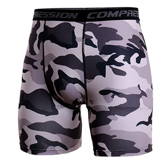a41b4f239 Amazon.com  Allywit Men s Compression Shorts Running Tights Big and Tall   Clothing
