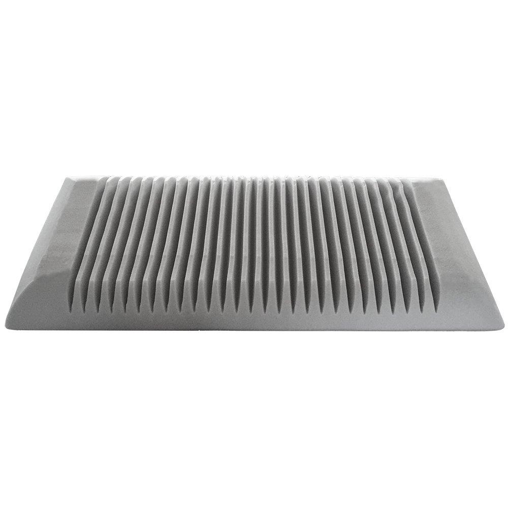 DAGOSTINO HOME - Almohada Visco Grafeno 60x60 cm con particulas de carbono activo Relajante Zen- Lavable - fabricada en España (disponible en todas las ...