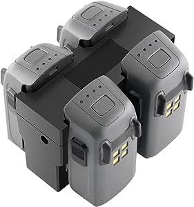 Amazon.com: RC GearPro DJI Spark - Cargador de batería para ...