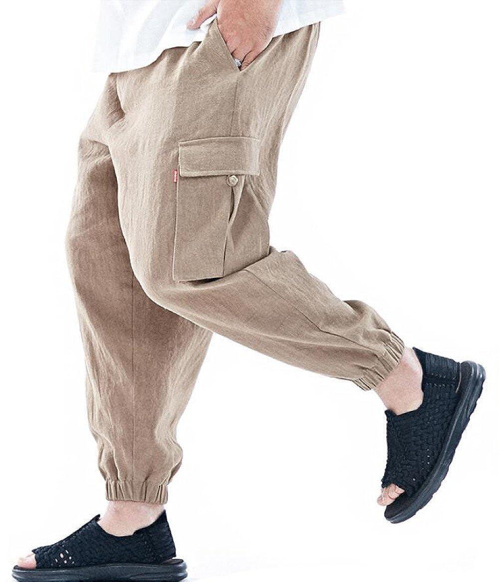 GHGJU Pantalones De Los Pantalones De Los Hombres Pantalones ...