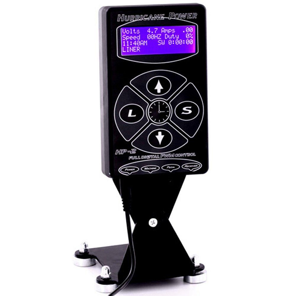 Tattoo Liner Machine - Tattoo Power Supply Digital Tattoo Kit Generic LCD Display Unit Set for Liner Shader Enlux