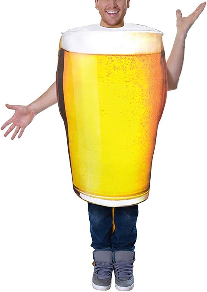 Feynman Adultos Disfraz Jarra de Cerveza para Fiesta de Halloween ...