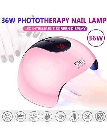 Lámpara de luz LED para clavos UV de 36 vatios con cable USB, secador de
