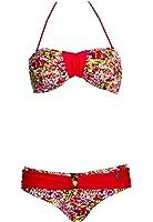 Beachlife, Bandeau Bikini, bunt