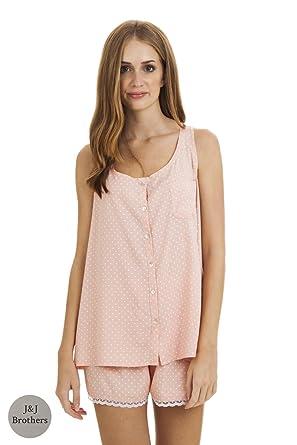 vente officielle la qualité d'abord mieux Pyjamas pour femmes. Débardeur rose avec imprimé étoiles ...