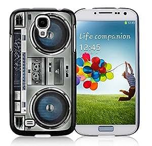 Boombox Samsung Galaxy S4 i9500 Case Black Cover WANGJING JINDA