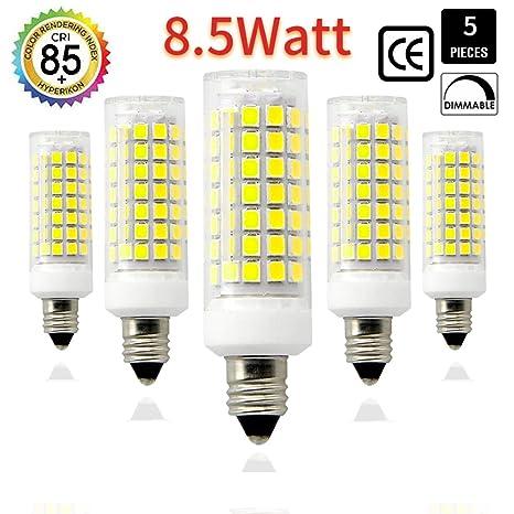 Bombilla LED E11 75 W 100 W equivalente a bombillas halógenas, 1100 lm, e11mini