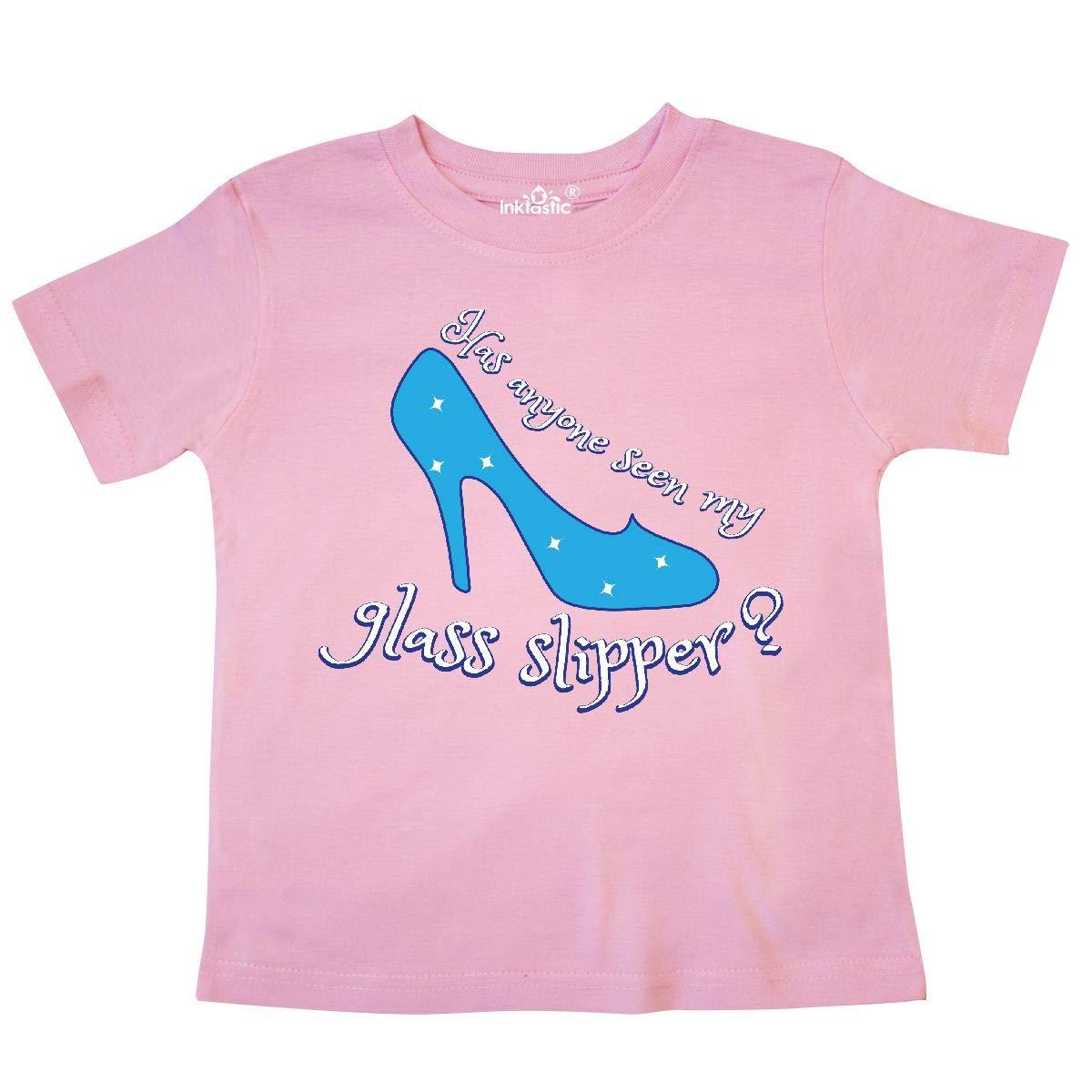 inktastic Glass Slipper Toddler T-Shirt