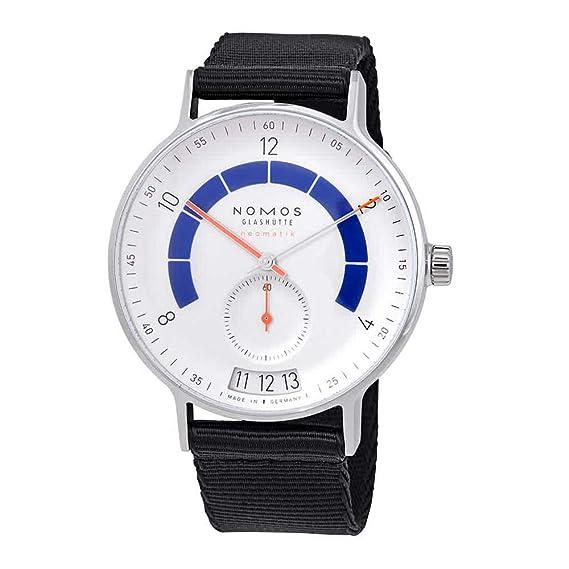 Nomos Glashuette Autobahn Reloj de Hombre automático 41mm Correa de Tela 1303